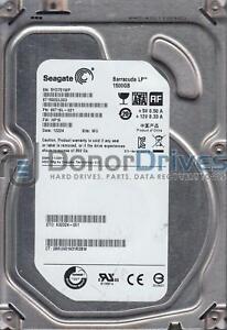 ST1000DM003 FW CC4C W1D PN 9YN162-302 WU Seagate 1TB SATA 3.5 Hard Drive
