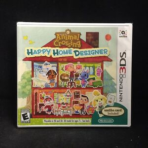 Animal Crossing Happy Home Designer (3DS) BRAND NEW / US Version ...