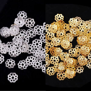 500Pcs-Retro-Metal-Flower-Bead-Caps-Spacer-Beads-Jewelry-Findings-Crafts-6mm