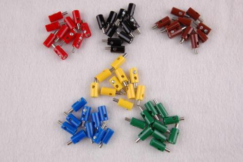 unid 19,9 CT 60 enchufe//transversales agujero redondo conector de 2,6mm ordena nuevo