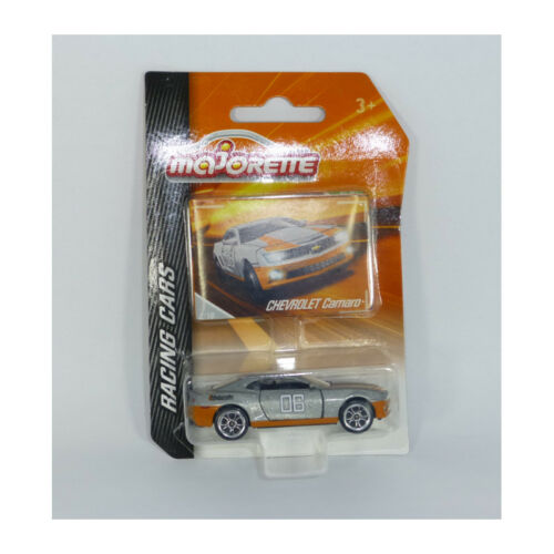 Majorette 212084009 Chevrolet Camaro #06 grau ° Racing Cars 1:64 NEU