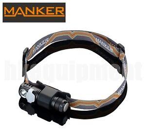 MANKER E03H Nichia 219C AA LED Magnetic Cap Head Torch+White Red Green Diffuser