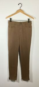 Pant 6 Denim Skinny Leg Taglia Jean Strenesse Brown straight wq6S6Hz