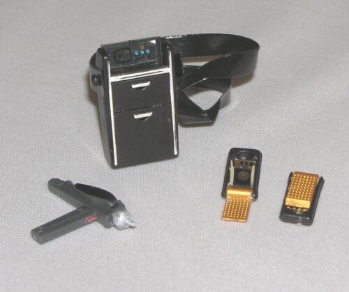 Miniature Star Trek Tricorder Communicator Phaser 1:6 scale fit Barbie Ken