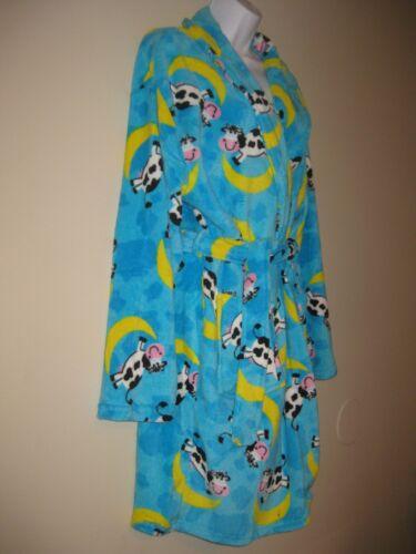 Plush Robe Hippopotamus Cow Pig Elephant Comfy Womens Super CUTE Plush Fleece !!