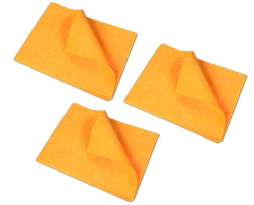 3x Aufnehmer Bodentuch orange 50x70cm Scheuertuch Bodenwischtuch Scheuerlappen
