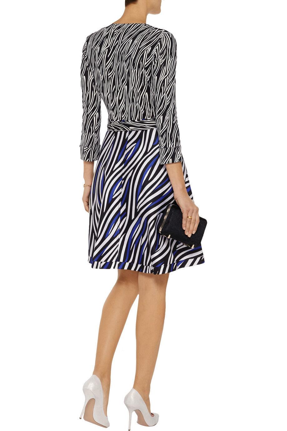 NWT  485 Diane Von Furstenberg DVF DVF DVF  Amelia  Wrap Dress 8 3e9de8