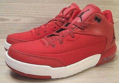 low cost dce07 3ccbc Nike Air Jordan Flight Origin 3 Gym Red/Black Basketball 820245-601 Size  11.5 | eBay