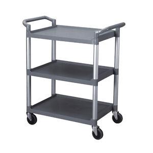 Restaurant Food Service Rolling Utility Bus Cart On Wheels Free Shipping 709517255278 Ebay