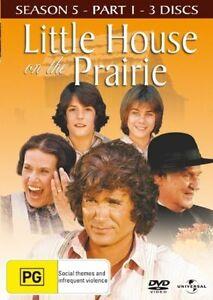 Little-House-On-The-Prairie-Season-5-Part-1-DVD-2008-3-Disc-Set