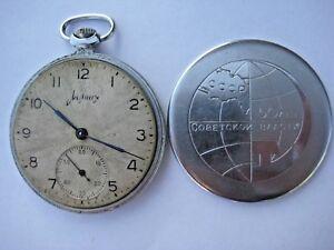 1965 Molnija SOVIET Russian USSR  Pocket Watch