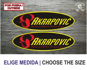 Sticker-Vinilo-Decal-Vinyl-Aufkleber-Adesivi-Autocollant-Akrapovic-1A-Exhaust