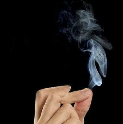 5x7cm Mystic Finger Hells Smoke Magic Trick Smoking Illusion Paper Kids Magician