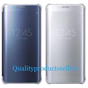 Galaxy S6 Edge Plus S-View Clear Flip Cover