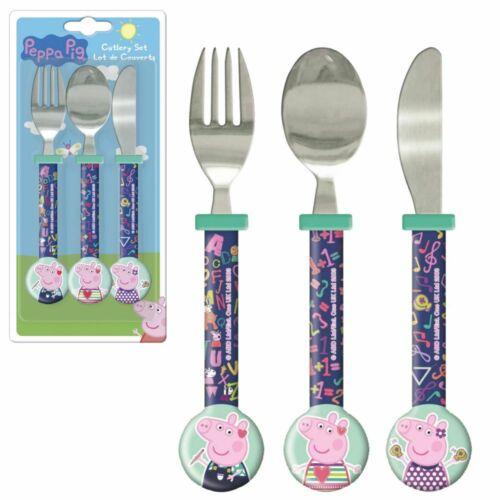Besteck-Set für KinderPeppa WutzPeppa PigMesser Löffel Gabel