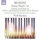 Ferruccio Busoni - Busoni: Piano Music, Vol. 6 (2009)