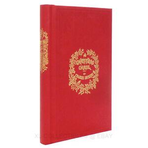 image is loading a christmas carol 1843 1st edition deluxe facsimile - A Christmas Carol First Edition