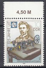DDR 1990 Mi. Nr. 3332 mit Oberrand Postfrisch (25386)