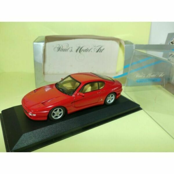 DETAIL CARS FERRARI 456 GT COUPE 1993 ROUGE