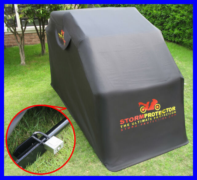 Motorbike Large Waterproof Motorcycle Cover Mobility Scooter Bike Shelter