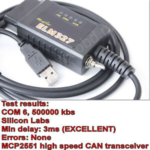 Details about ELM327 USB modified fits Ford ELMconfig latest chip HS-CAN /  MS-CAN Forscan OBD2
