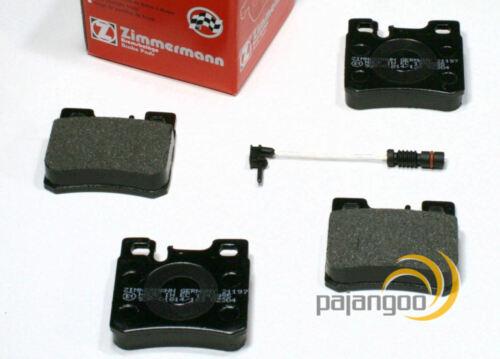 Zimmermann Bremsbeläge Sensoren für vorne hinten Mercedes C Klasse W202