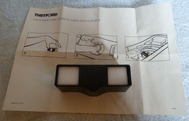 Thetford Cassette Toilet : Thetford cassette toilet float vent c c c caravan toilet ebay