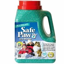 Safe Paw Non-Toxic Ice Melter Pet Safe, 8 lbs. 3 oz. New