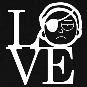 Love Morty TV Show Rick and Morty Decal Vinyl Cut Sticker Window Funny