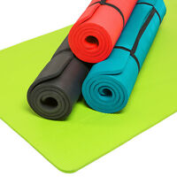 Tapis De Yoga Sol Fitness Gymnastique Sport Matte Musculation Camping Pilates
