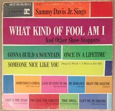 Sammy Davis Jr. Sings What Kind Of Fool Am I And Other Show Stoppers EX Vinyl LP