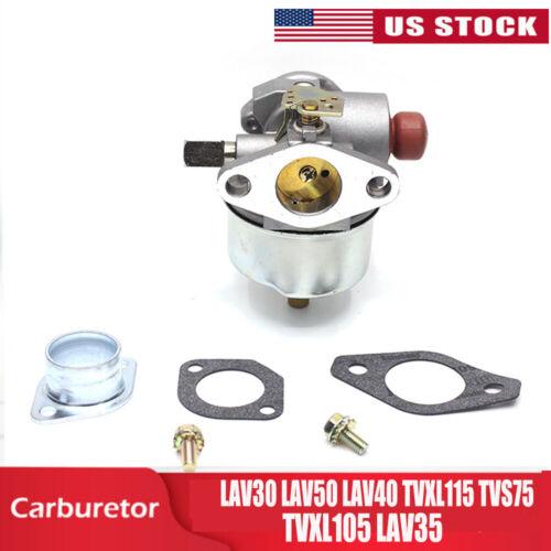 Carb 632795A for Tecumseh Models LAV30 LAV50 LAV40 TVXL115 TVS75 TVXL105 LAV35