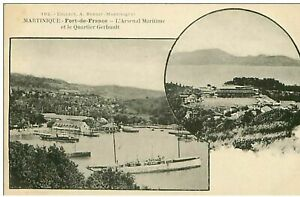 Martinique-fort-Of-France-n-75-L-039-Arsenal-Maritime-and-The-District-Gerbault