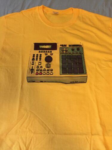 t shirt drum pads akia mpc drum machine 2000xl music sampler hip hop