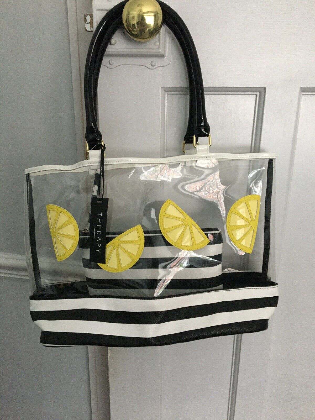 Therapy Shopping Bag Medium New With Tags