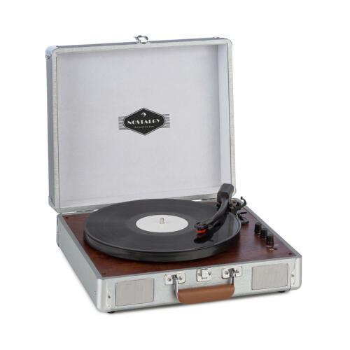 *B-WARE* Kofferplattenspieler Retro Vinyl Stereolautsprecher Turntable