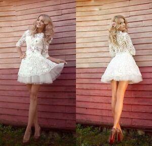 Mini Short Wedding Dresses