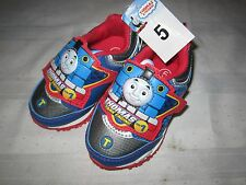 Thomas & Friends Boys Tennis Shoes Light-up Toddler size 5 Train