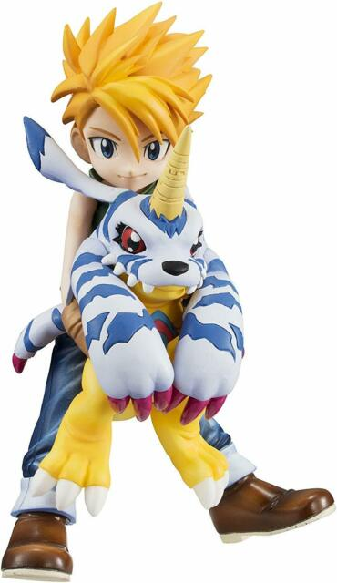 G.E.M. series Digimon Adventure Ishida Yamato & Gabumon about 105mm PVC-painted