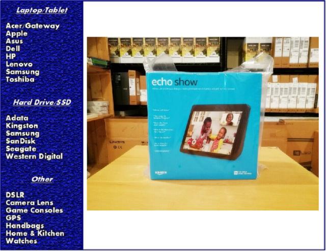 Amazon Echo Show 2nd Generation –  Charcoal, New, Sealed