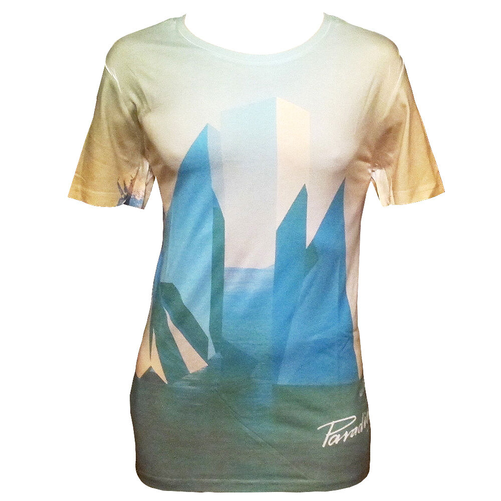 7013879a70f2 OFFICIAL Paradise Ibiza Mens T-shirt DC10 Jamie Jones Multishape Sub RRP .00
