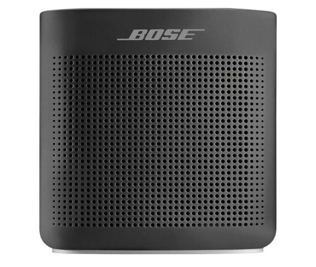 Bose Soundlink Color Portable Bluetooth Speaker ii -Soft Black