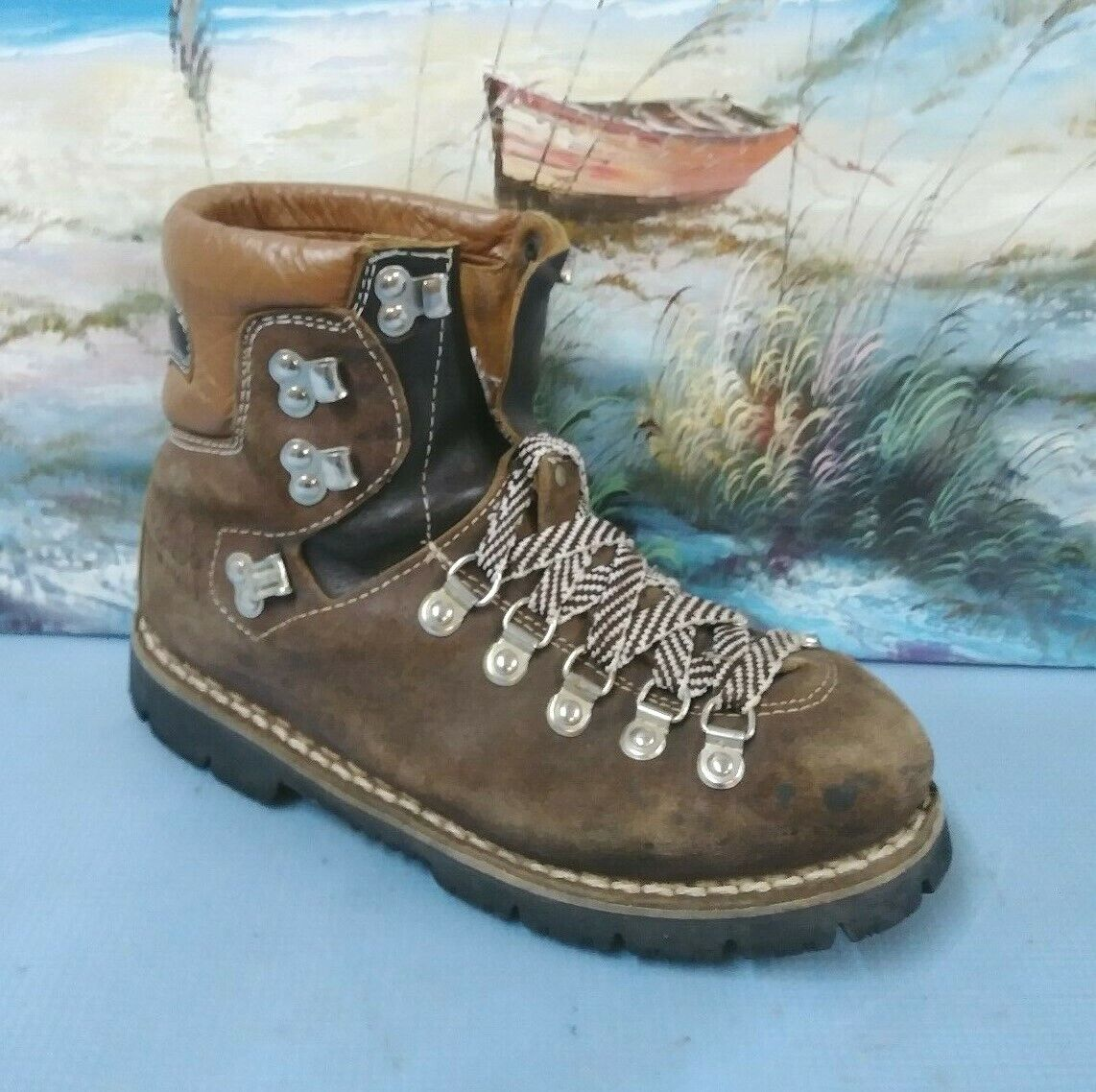 colorado Womens BROWN Leather Hiking Lace  up BootSize 7  special offer