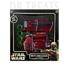 Star Wars Boba Fett Gauntlet Blasters Disney Parks Authentic Original NEW!