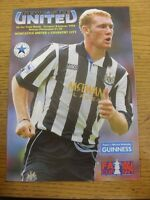 08/01/1994 Newcastle United v Coventry City [FA Cup] . Footy Progs/Bobfrankandel