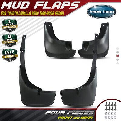 4x Splash Guards Mudguards Mud Flaps Fenders For Toyota Corolla 98-02 Rear