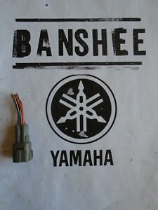 Details about Yamaha Banshee Wiring Harness Connector Grey Electrical on