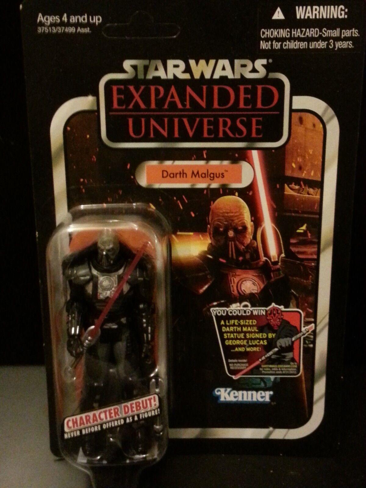 Hasbro Kenner Star Wars Expanded Universe DARTH MALGUS VC96 Figure VHTF