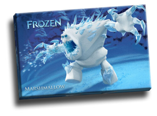 Frozen Marshmallow Framed Canvas Or Poster Picture Many Sizes!