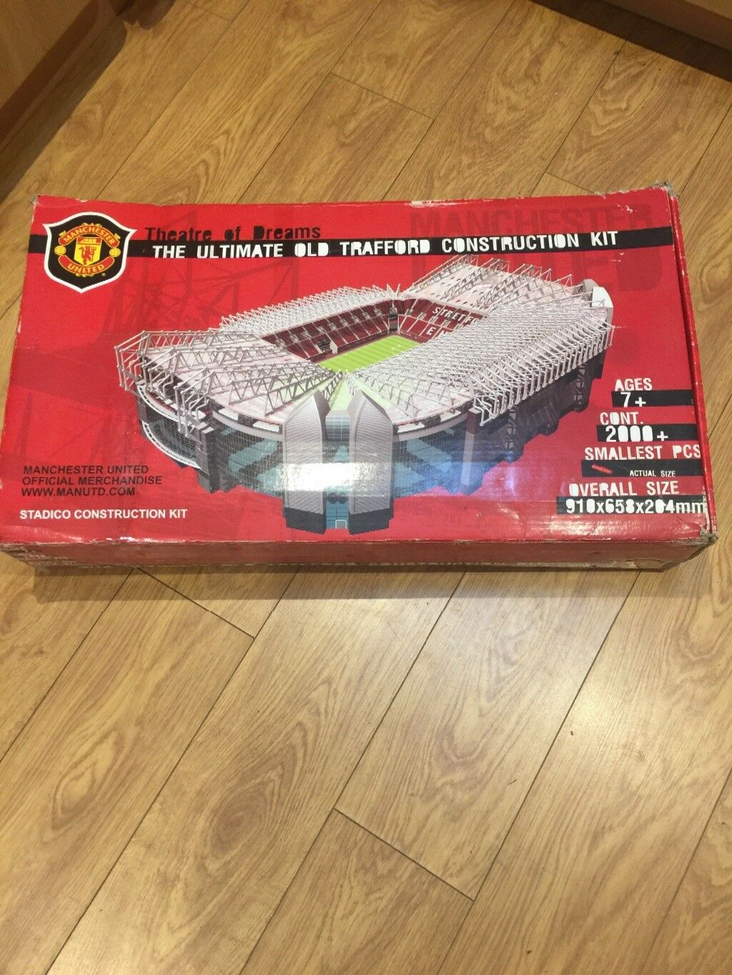 Vintage rare Manchester United large model stadium collectable Old Trafford
